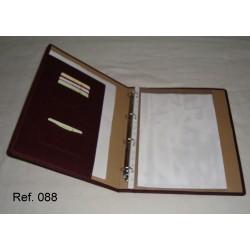 Ref. 088 Carpeta para catálogos en polipiel