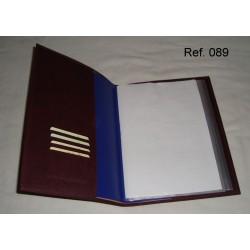 Ref. 089 Funda para Catálogo en polipiel