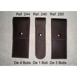 Ref. 240-244-250 Porta-Boligrafos de piel vintage