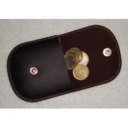 Ref. 266 Porta monedas de piel vintage