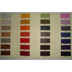 Carta de Colores de piel de madra