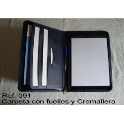 Ref. 091 Portadocumentos y block en polipiel