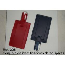 Ref. 225 Conjuntoide Identificadores de maletas