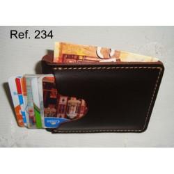 Ref. 234 Tarjeter-Billetero rústico
