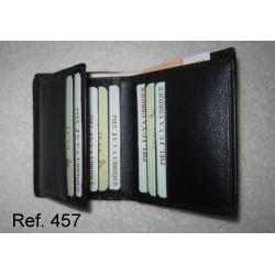 Ref. 457 Cartera 9 tarjetas