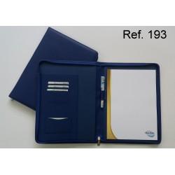 Ref. 193 Carpeta Portadocumento en piel